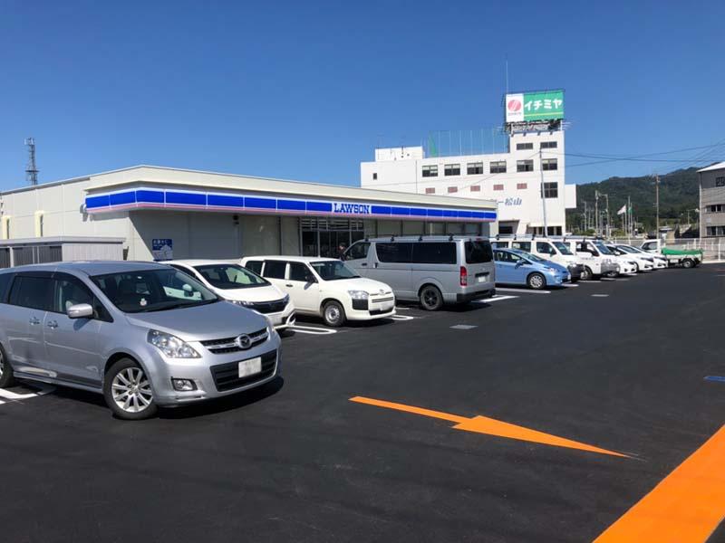 ローソン東温田窪店OPEN